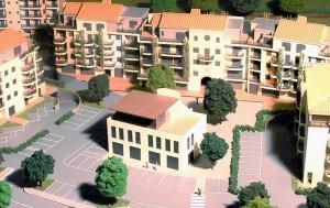 una piazza urbana luogo di aggregazione e ritrovo