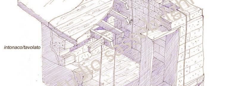 studio per una casetta in paglia autocostruita