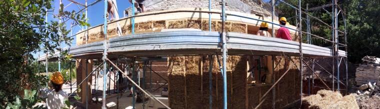 casa passiva in paglia e legno