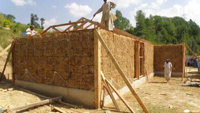 costruzioni in paglia